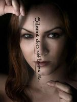 Silence does not become me... by rebekah-modeling