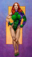 Gen 13 color version by LovBlondGirlMuscled