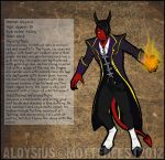Aloysius the Devil by Mottenfest
