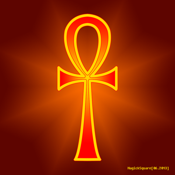 Ankh by MagickSquare