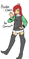 Asuka-Chan for Carrool by XxLightningDawnxX