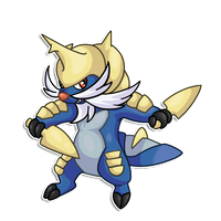 Chibi  Samurott by RegallyFlawed