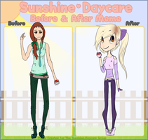 SD Before and After Meme by jinuro
