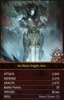 Sei Black Knight, Arin by KilaliPop
