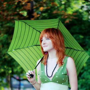 Green umbrella by MotyPest - HayAleTten AvaTarlaR