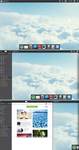 In the Clouds - Elementary OS/Jolicloud Mockup by DaSurgeeo