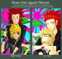 draw this again-AKUROKU by Jadethefirefox