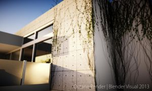 Octane Render Stone House Design 19 by str9led