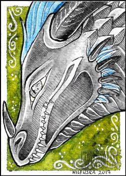 ACEO Rathena by LadyFromEast