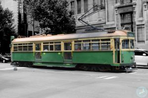 melbourne city tram by MCL1982