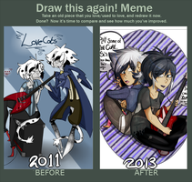 Draw this again meme by BlubberBooty