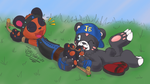 Poor Sandal Panda by JBWarrior