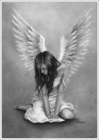 Heartbroken Angel by Zindy