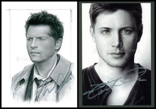 Misha and Jensen signed by Cataclysm-X