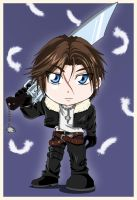 Chibi 6_Squall Leonhart by Letucse