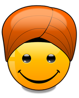 Hats of the World: Turban (svg) by mondspeer