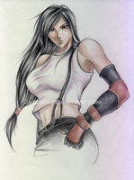Tifa Domineering by jazzedy