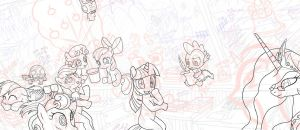 MLP FIM Global Image WIP_04 by alexmakovsky