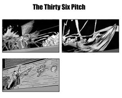 The Thirty Six Pitch by gzapata