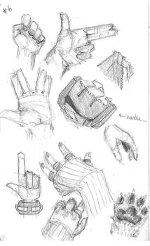Study 06 Hands by Carotah