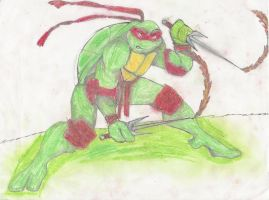 Raphael, fire bending by T-babe