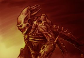 Alien Predator by MAROK-ART