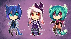 Magical Boys - Name your Price, Cash [Closed] by RenciAdopts