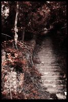 Stairs to Hell House by xmansonx