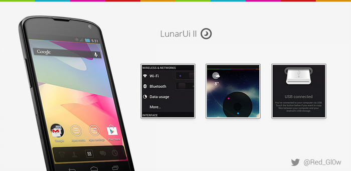 LunarUi - CM10 Theme (Rebirth) [Beta 1] by R3D-X7