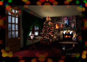 Christmas Interior Design by Pennes-from-Heaven