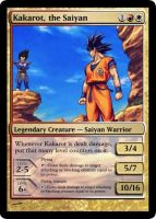 Kakarot - MTG Card by Warrior-Within