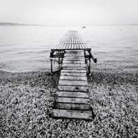 the black and white sea no.10 by herbstkind