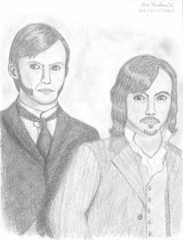 Dr. Jekyll and Dorian Gray by drakenadestroyer