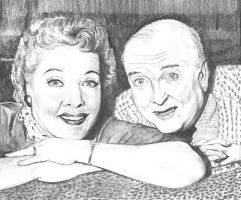 Fred and Ethel Mertz by marmicminipark