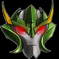 Skyquake Helm by Laserbot