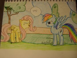 Fluttershy yay Request by spidyphan2