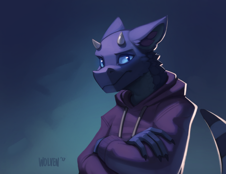 Neil Tag [Art Fight] by ItsWolven