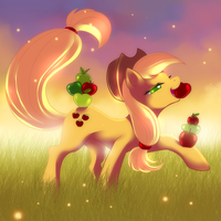 Applejack-Proud by YogurtYard