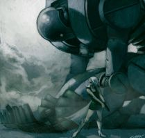 giant robot by cuson
