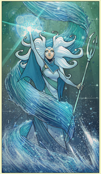Water Mage by devilhs
