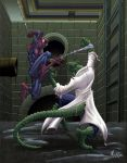 SPIDER-MAN VS. THE LIZARD by HEARTBREAKKID