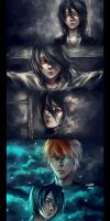 .sick from drinking darkness like wine. by NanFe