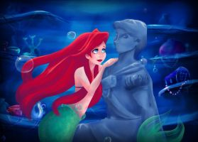 Ariel. _Run away with you..._ by Kidagagash