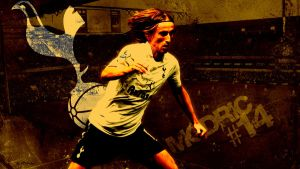 Modric (Spurs) - Wallpaper by mattsimmo