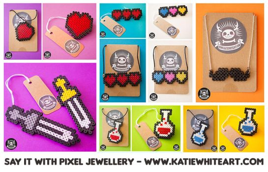 Say It With Pixel Jewellery by pai-thagoras