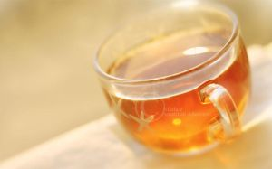 Golden Tea by Nilofaar