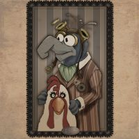 Steampunk Gonzo by Pencilbags