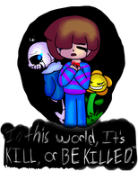 .:Undertale:. by TheMaidOfBreath