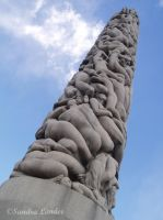 The Vigeland monument by Oceanforce
