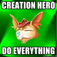 creation hero do everything by Dr-J33